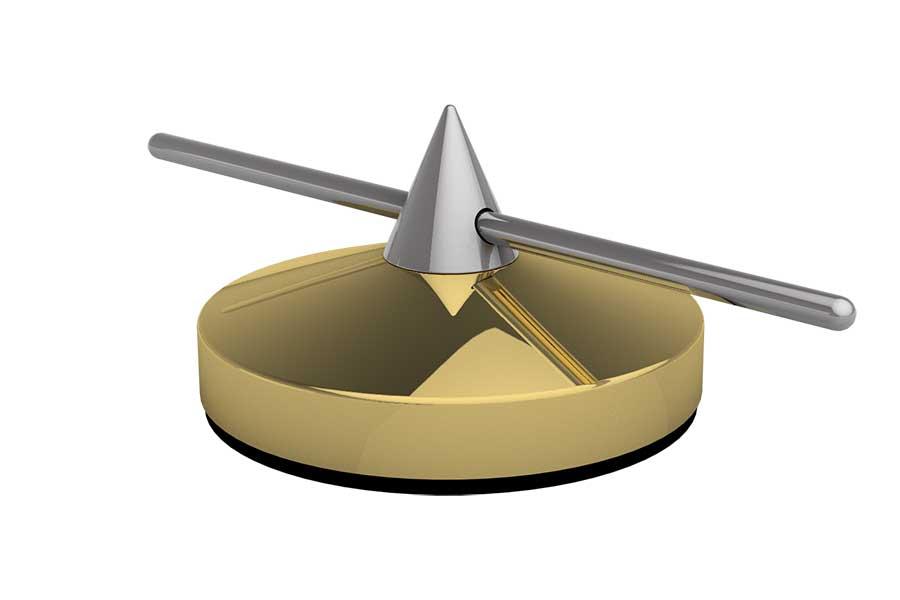 Spike 30mm justierbar gold